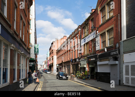 Terraced housing in manchester england uk stock photo for Terrace northern quarter