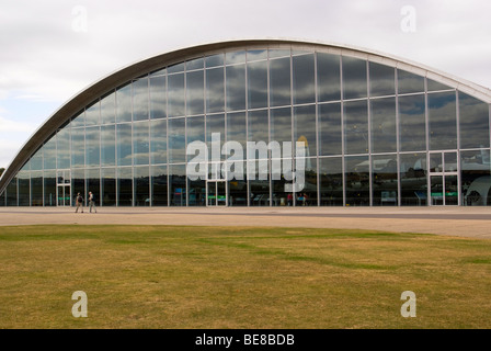 The American Air Museum Part of Imperial War Museum Duxford Cambridgeshire England United Kingdom - Stock Photo
