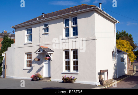 Detached House, No Front Garden, Ryde, Isle of Wight, England, UK, GB. - Stock Photo
