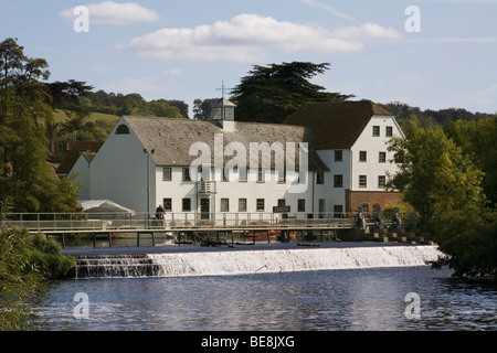 England Buckinghamshire Hambleden Mill & River Thames - Stock Photo
