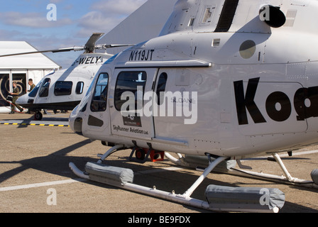 Agusta A-119 Koala N119JT and A-109E Power G-WELY ...