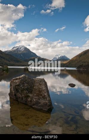 Lake Sylvan, South Island, New Zealand - Stock Photo