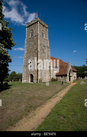 St Margaret's church, Shottisham, Suffolk - Stock Photo