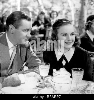 MAD ABOUT MUSIC - 1938 Universal film with Deanna Durbin and Herbert Marshall - Stock Photo
