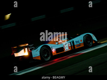 The Le Mans Series 1000km of the Algarve taking place during the night at the Autódromo Internacional do Algarve, - Stock Photo