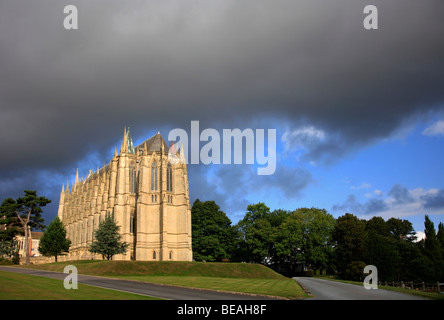 Lancing College Chapel Lancing Sussex County England Britain - Stock Photo