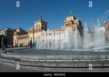 plaza zorilla academia de caballeria Valladolid spain castile and leon - Stock Photo