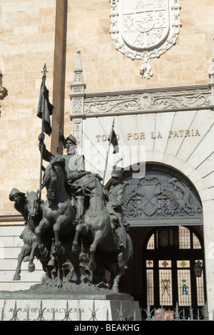 academia de caballeria Valladolid spain castile and leon - Stock Photo