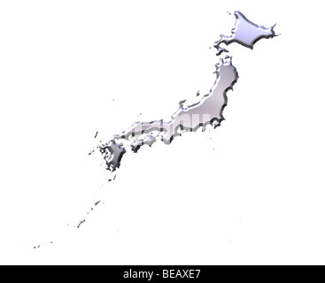 Japan Country Map Stock Vector Art Illustration Vector Image - Japan map sketch
