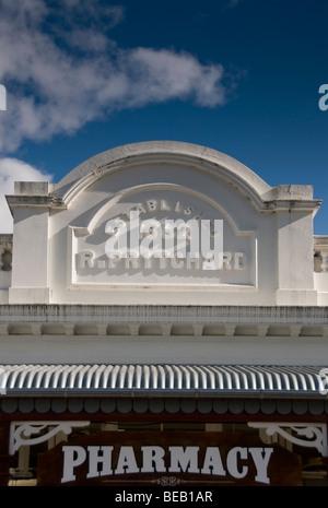 Arrowtown pharmacy, New Zealand, - Stock Photo