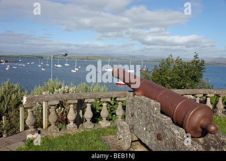 Bantry House Cannon, Bantry Bay, West Cork, Ireland - Stock Photo