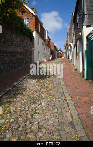 'Keere Street', Lewes, Sussex, England, UK. - Stock Photo