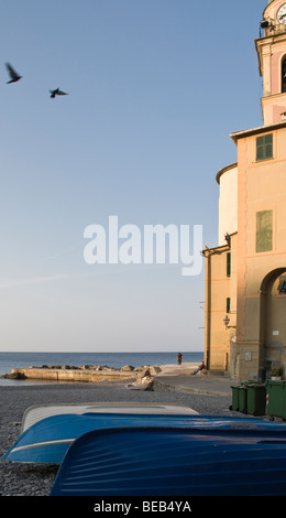 Church Camogli - Stock Photo