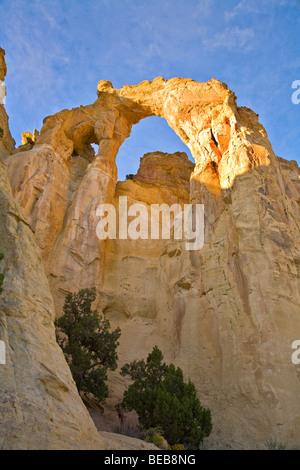 Grosvenor Arch at Grand Staircase-Escalante National Monument, near Cannonville. Utah, USA, BEAN_AL_Pix_0304 - Stock Photo
