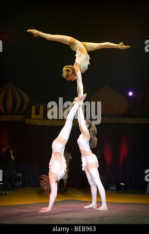 Moscow state Circus in Edinburgh, Scotland, UK - Stock Photo