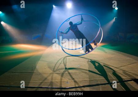 Moscow state Circus in Edinburgh, Scotland, UK - Stock Photo