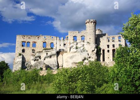 Ogrodzieniec castle, Poland. - Stock Photo