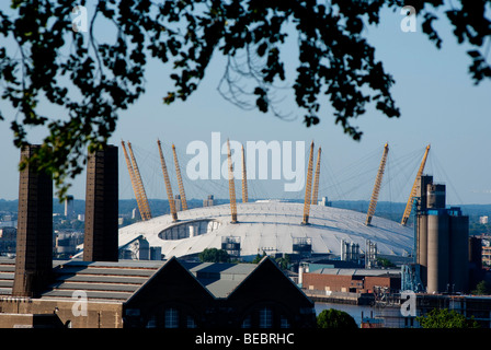 UK, england, London, O2 arena Millenium Dome 2009 - Stock Photo