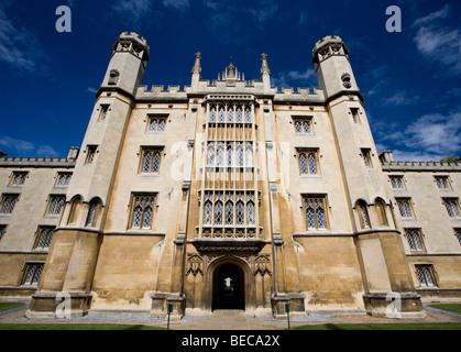 St. John's College in Cambridge, Cambridgeshire, UK - Stock Photo