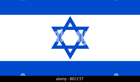 Flag of Israel - Stock Photo