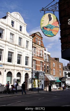 Highgate High Street, Highgate, London Borough of Haringey, London, England, United Kingdom - Stock Photo