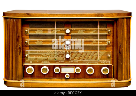 Old radio - Stock Photo