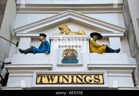 Twinings tea shop in the Strand, London - Stock Photo