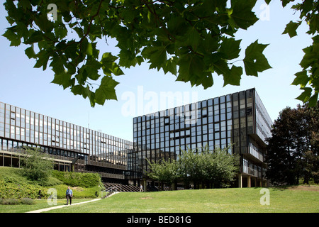 European Commission, Jean Monnet building, in Luxembourg, Europe - Stock Photo