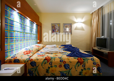 Room, Aldiana Club, Larnaca, Cyprus, Asia - Stock Photo