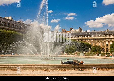 JARDIN DU PALAIS ROYAL, PARIS - Stock Photo