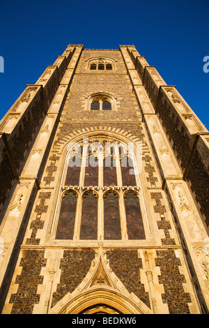 St Peter and St Paul Parish Church Lavenham Suffolk England - Stock Photo