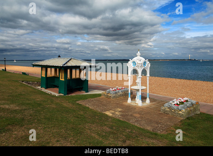 Victorian drinking Fountain. Cowes, Isle of Wight, England, UK. - Stock Photo
