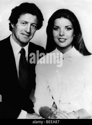 Caroline, Princess of Hanover, and Philippe Junot are married in Monaco. - Stock Photo
