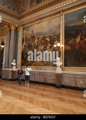 A photograph from a series of Palace of Versailles in France. - Stock Photo