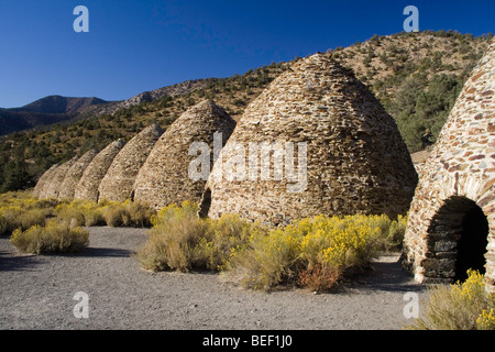 Charcoal Kilns in Death Valley National Park, California - Stock Photo
