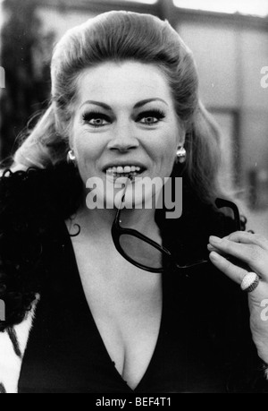 Swedish actress Anita Ekberg. - Stock Photo