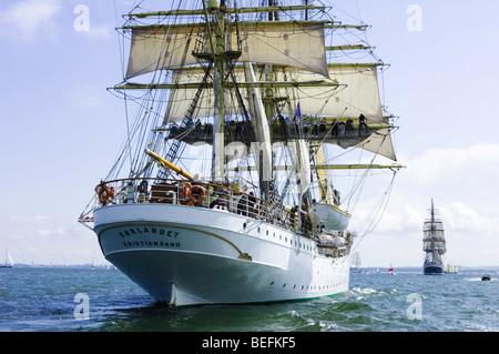 Sorlandet, Tall Ships race. Gdynia 2009 - Stock Photo
