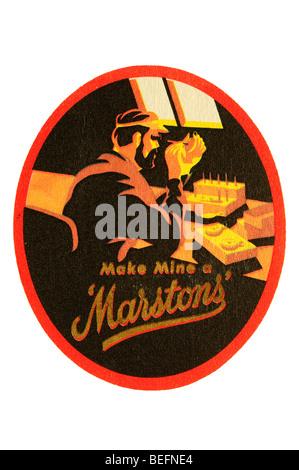 make mine a marstons - Stock Photo