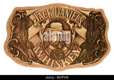 jack daniels whiskey old no 7 brand - Stock Photo
