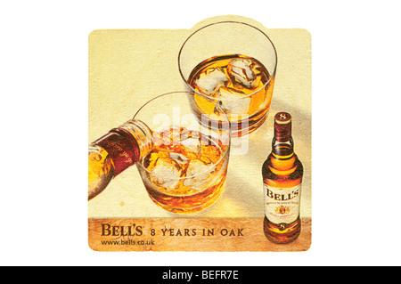 bells 8 years in oak - Stock Photo