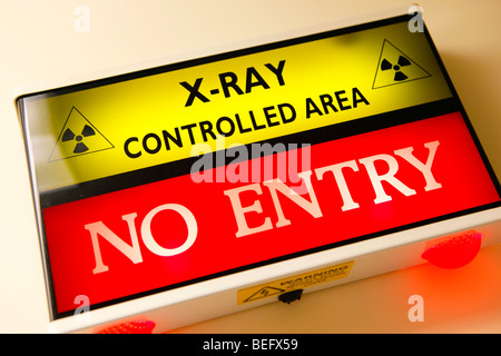 X Ray area in a hospital - Stock Photo