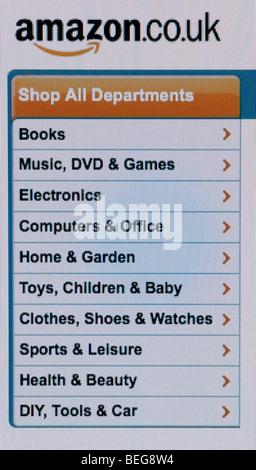 Amazon screenshot - Stock Photo