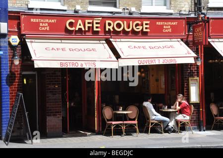 Cafe Rouge Kensington Church Street