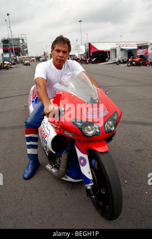 Hector Arana, NHRA Full Throttle Drag Racing Series, NHRA Carolinas Nationals 2009 at the zMax Dragway in Concord - Stock Photo