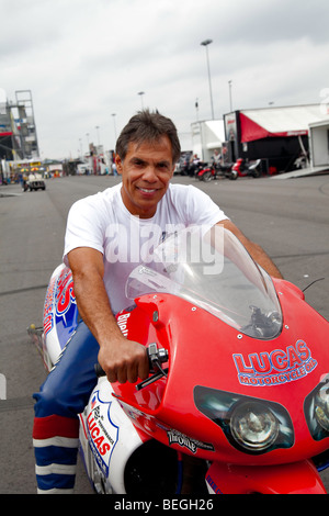 Hector Arana, NHRA Full Throttle Drag Racing Series, NHRA Carolinas Nationals 2009 at the zMax Dragway in Concord - Stock Photo