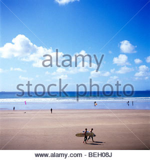 Newgale beach in Pembrokeshire, west Wales, UK. - Stock Photo