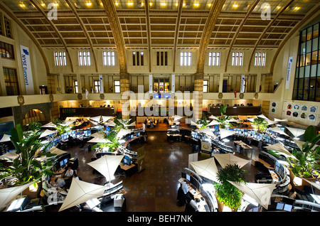 beursplein 5 the amsterdam nyse stock exchange with stock ticker stock photo royalty free image. Black Bedroom Furniture Sets. Home Design Ideas