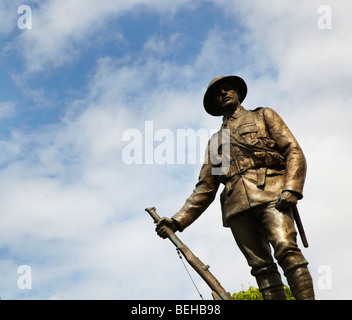 Kings Royal Rifle Corps Memorial, Winchester - Stock Photo