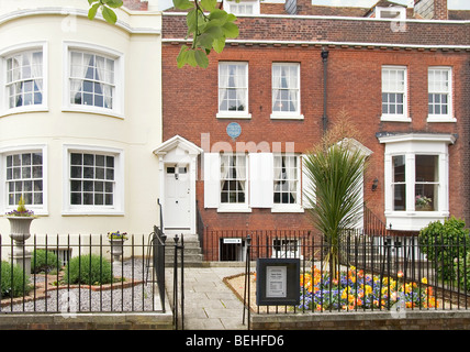 Charles Dickens Birth Place in Portsmouth, Hampshire, England, UK - Stock Photo