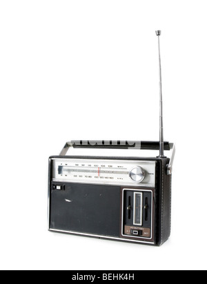 Vintage Retro Radio - Stock Photo